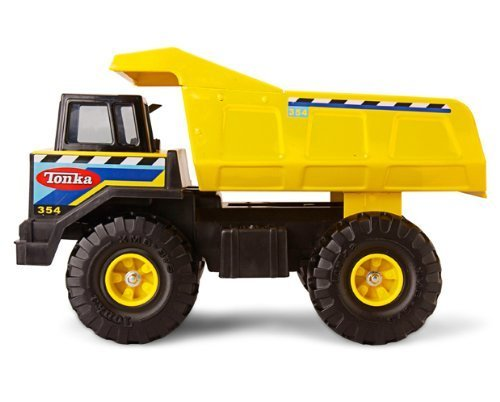 Tonka Toy Trucks (Tonka Retro Classic Steel Mighty Dump Truck (the color of the stickering may)