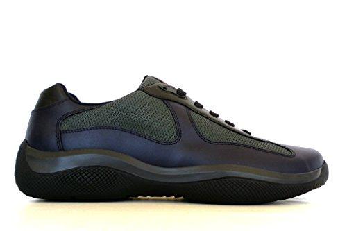 Prada - Zapatillas para hombre azul BLU + ANTRACITE