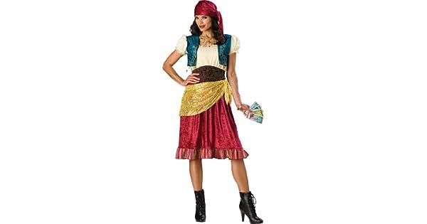Amazon.com: Incharacter Disfraces, LLC gitano de la mujer ...