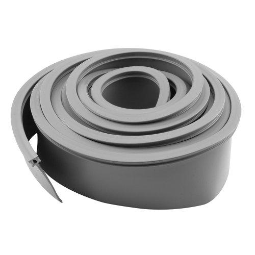 Weatherstrip 10 Piece (Prime-Line Products GD 12273 Garage Door Bottom Seal, Metal Door, 10-Feet Long, Gray Vinyl)