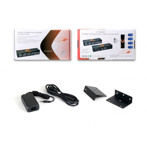 Atlona Technologies AT-VGA14A Distribution Amplifier Constant Power On by Atlona Technologies