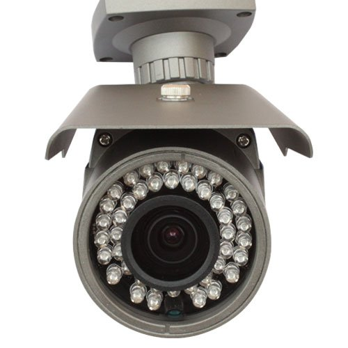 GW Security Inc GW-30WD-VD 1/3-Inch Exview HAD CCD II Surveillance Security Camera 700 TV Lines, 2.8 to 12mm Lens, 42 Pieces IR LED and 115-Feet IR Distance