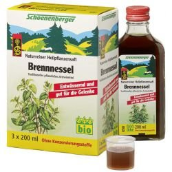 BRENNNESSELSAFT Schoenenberger 600 ml Saft