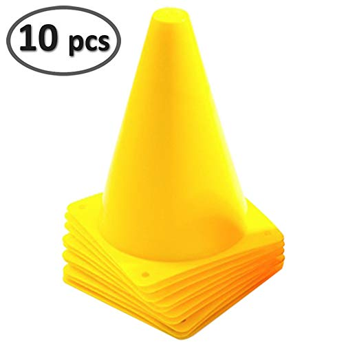 mini yellow cones - 1