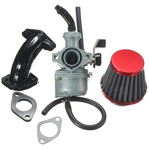 Noblik 22Mm Pz22 Carb Carburatore Filtro Aria Tubo di Aspirazione per 110Cc 125Cc SSR Lifan Crf50 Pit Dirt Bike Moto ATV