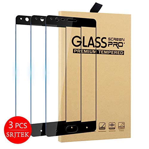 SRJTEK for OnePlus 3 / OnePlus 3T [Tempered Glass] Screen Protector [ Glass with 9H Hardness] with Lifetime Replacement Warranty