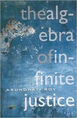 Book The Algebra of Infinite Justice