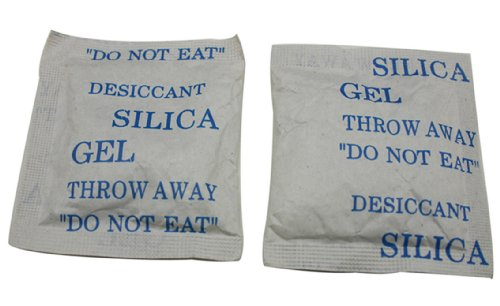 Chuzhao Wu 10 Gm Silica Gel Desiccant Pouches Sachets Sacked