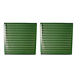 AR38234 2 New Tractor Front Side Screens Made to F