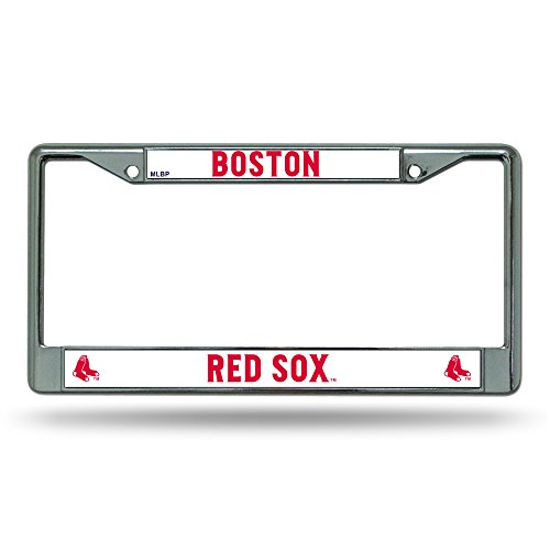 MLB Boston Red Sox Chrome License Plate Frame ()
