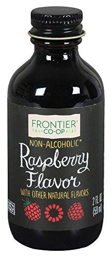 Frontier Co-op Raspberry Flavor, Non-Alcoholic, 2 ounce bottle