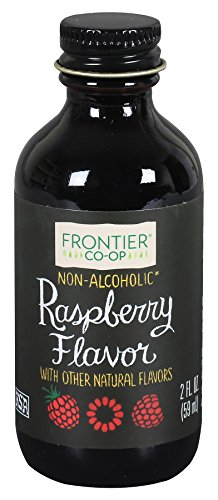 (Frontier Co-op Raspberry Flavor, Non-Alcoholic, 2 ounce bottle)