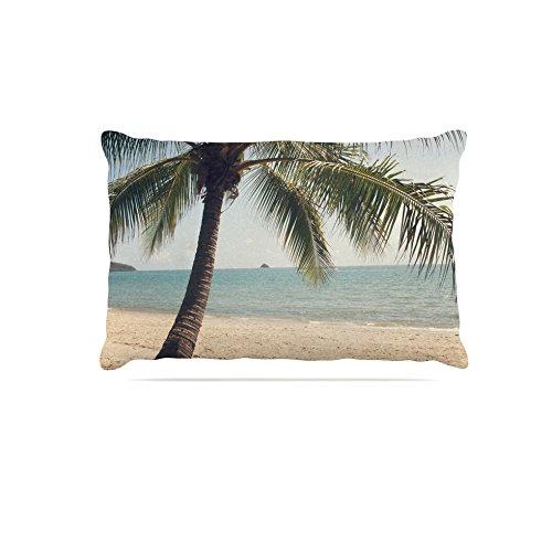 Kess InHouse Catherine McDonald Bondi Beach  Fleece Dog Bed, 50 by 60 , Coastal People