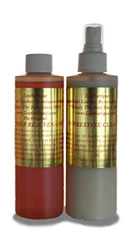 - Leatherique Leather Rejuvenator/ Prestine Clean Pair 8 Oz