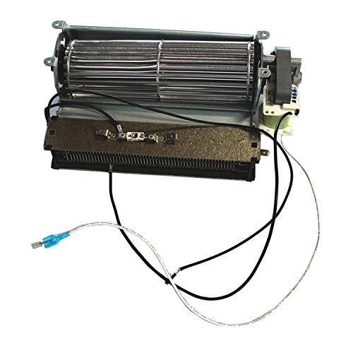 VICOOL Replacement Fireplace Fan Blower with Heating Element for Twin Star Electric Fireplace and Other Wood//Gas Burning Stove or Fireplace
