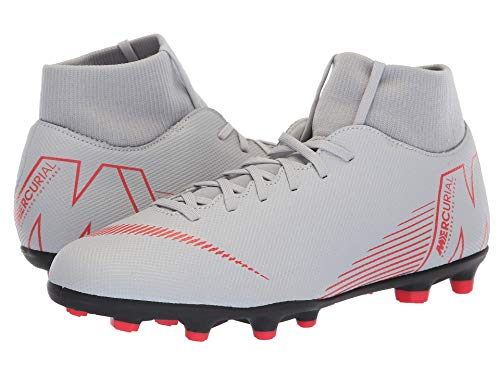 [NIKE(ナイキ)] メンズランニングシューズ?スニーカー?靴 Superfly 6 Club MG Wolf Grey/Light Crimson/Black 7.5 (25.5cm) D - Medium