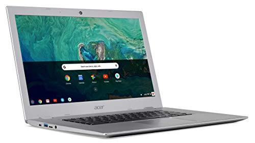"Acer Chromebook 15.6"" IPS Full HD Intel Celeron N3350 1.10 GHz 4GB LPDDR4 32GB Flash Memory HDR Webcam Chrome OS (Renewed)"
