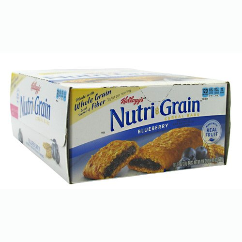 NutriGrain Blueberry Bars (16 Bars), 1.25 oz, Assorted by Nutri-Grain
