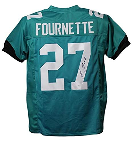 89c4a5f82 Image Unavailable. Image not available for. Color  Signed Leonard Fournette  Jersey ...