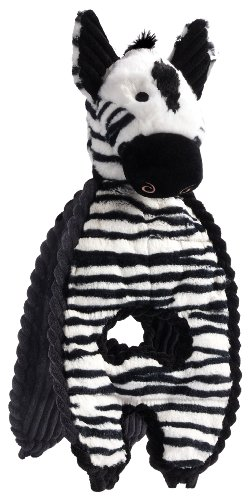Cheap Charming Pet Cuddle Tugs Pet Squeak Toy, Zebra