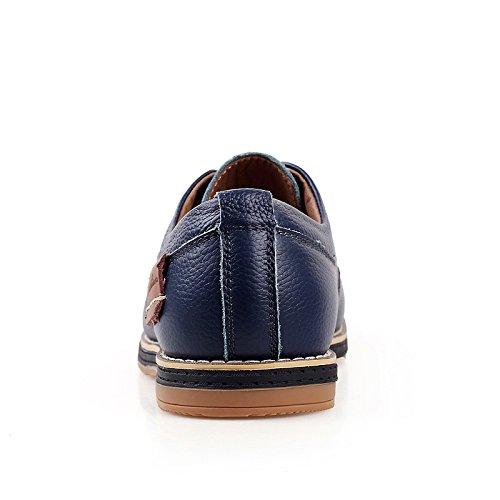 CFP - Zapatos Planos con Cordones hombre, color azul, talla 41 EU