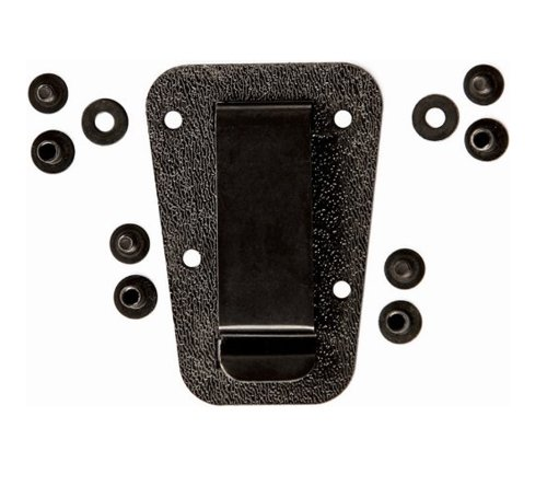 Plate Clips - ESEE Clip Plate for Izula Sheath Knife, Black