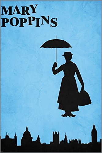 Mary Poppins classic character poster Disney Collectors famous movie - 2 To 5 Days Shipping From USA