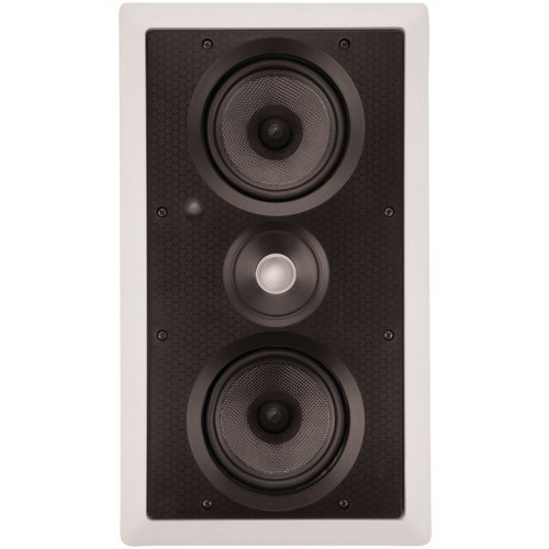 PS-525 LCRS DUAL 5.25'''' KEVLAR LCR IN-WALL SPEAKER by ARCHITECH PRESTIGE