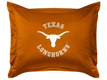 - NCAA Texas Longhorns Locker Room Sham