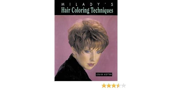 Hair Coloring Techniques: Louise Cotter: 9781562531164: Amazon.com ...