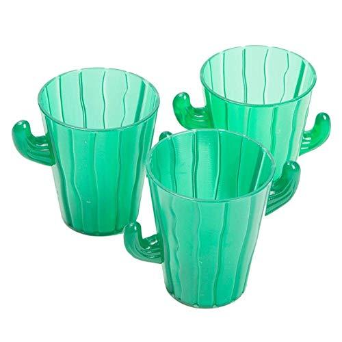 Cinco De Mayo/Fiesta Party Pack- 24 Cactus Shot Glasses ()