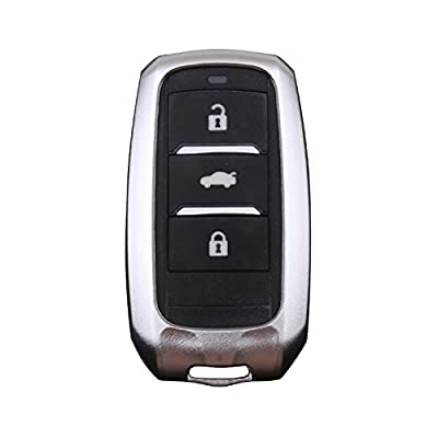 [MissBlue] Aircraft Aluminum Key Fob Cover For Changan Remote Key, Protector Case Fit Changan CS15 CS35 CS75 Eado Alsvin V7 Raeton Car Key, Unisex Leather Key Fob Keychain Key Fob Holder for Men Women