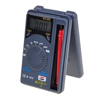 Urhelper XB-866 Portable Digital Multimeter(Pocket Size)