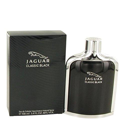 - Jaguar Classic Black men cologne by Jaguar Eau De Toilette Spray 3.4 oz