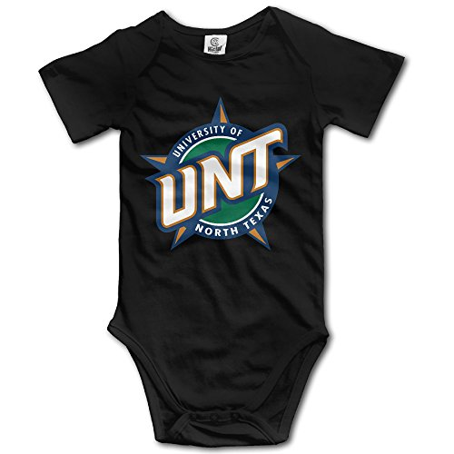Price comparison product image OOKOO Baby's University Of North Texas Bodysuits Black 12 Months