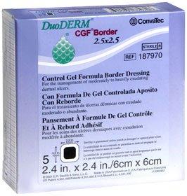 51187970 - Convatec DuoDerm CGF Adhesive Border Hydrocolloid Dressing 2-1/2 x 2-1/2