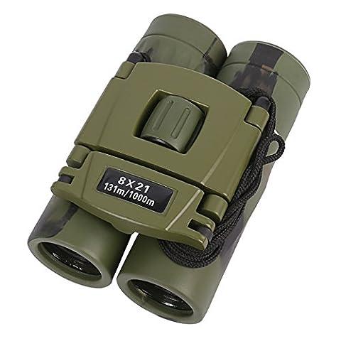 Kids Binoculars, 8x21 Kids Gifts Folding Spotting Telescope Binoculars For Bird Watching, Hiking and Educational Learning, Toys for Boys and (Folding Binoculars Kids)