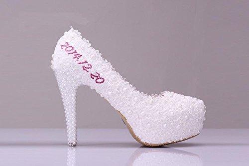 Si& Schöne Hochzeit Schuh Gedenk Signatur Design (ohne Schuhe selbst)