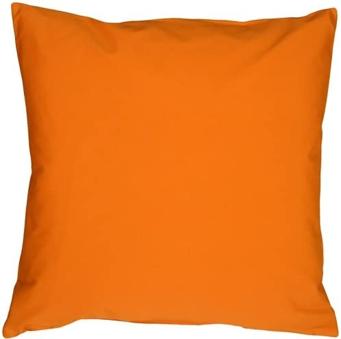 PILLOW D COR Caravan Cotton Orange 20×20 Throw Pillow