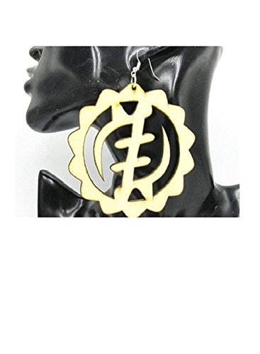 Adinkra Gye Nyame Earrings ()