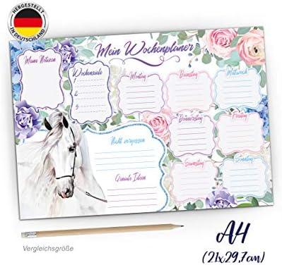 10 Pferde Einladungen zum Kindergeburtstag PAINTHORSE Einladungskarten mit Pferd f/ür M/ädchen