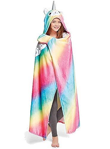 Justice Llamacorn Cozy Blanket