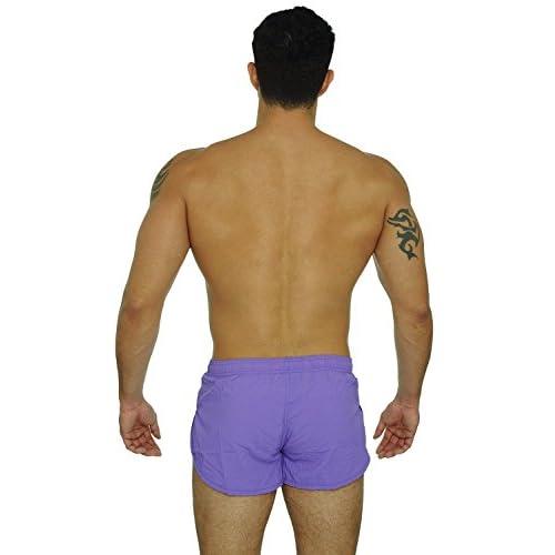 2c12672c0123 VbrandeD Men s American Flag and Nylon Swimwear Running Shorts ...
