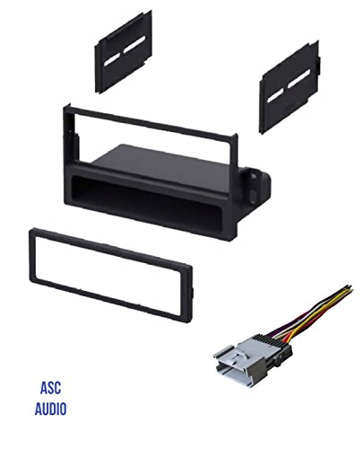2002 Saturn Radio - ASC Car Stereo Dash Install Kit and Wire Harness for Installing a Single Din Radio for select Saturn Vehicles - Very Important: Read Compatible Vehicles and Restrictions Listed Below