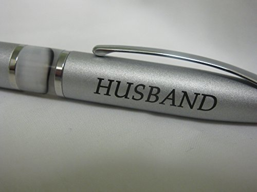 M WIFE, BEST GIFTS IDEA - PEN IN GIFT BOX SET Metal Twist Barrel is for Wedding Anniversary and Birthday - Silver (Attractively Gift Boxed)