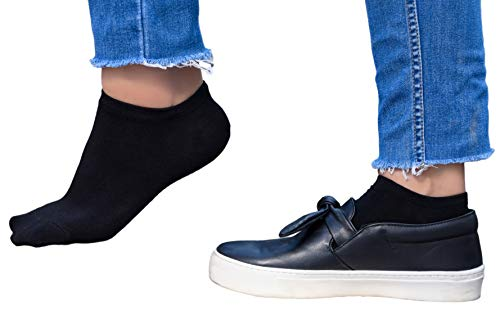 Unisex Premium Bamboo Socks | Casual Ankle Socks | Anti-Bacterial, No more stinky feet - 4 pack