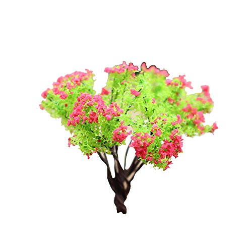 Price comparison product image Haotfire Artificial Plants, Haotfire 1pc Faux Greenery Shrubs Simulation Plastic Bushes Indoor Outdoor Planter DIY Wedding Balcony Decor Orange (C)