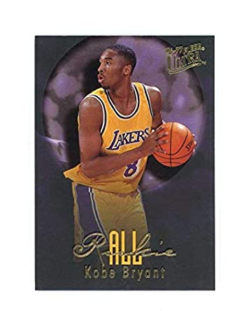 Amazoncom 1996 97 Fleer Ultra All Rookie 3 Kobe Bryant