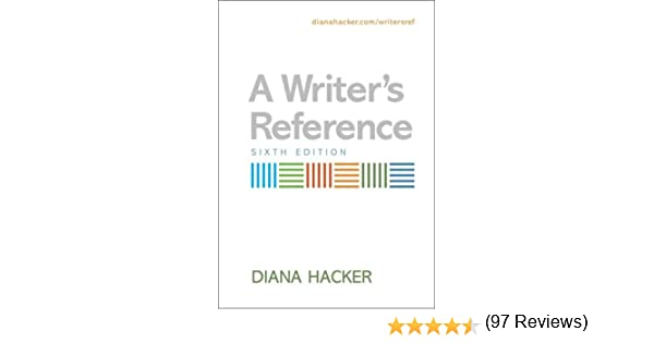 Amazon.com: A Writer's Reference (9780312450250): Diana Hacker: Books
