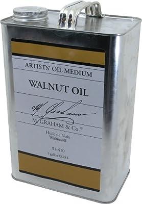 M. Graham 128-Ounce Walnut Oil Medium